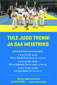Judoklubi samurai plakat-01 (002)